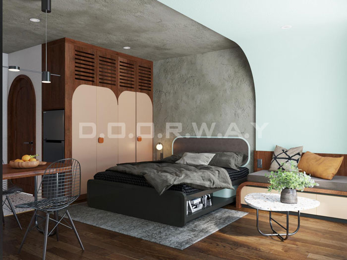 (10)Thiết kế nội thất nhà cho thuê phong cách hiện đại