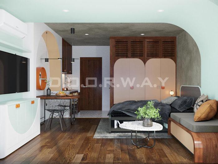 (11)Thiết kế nội thất nhà cho thuê phong cách hiện đại