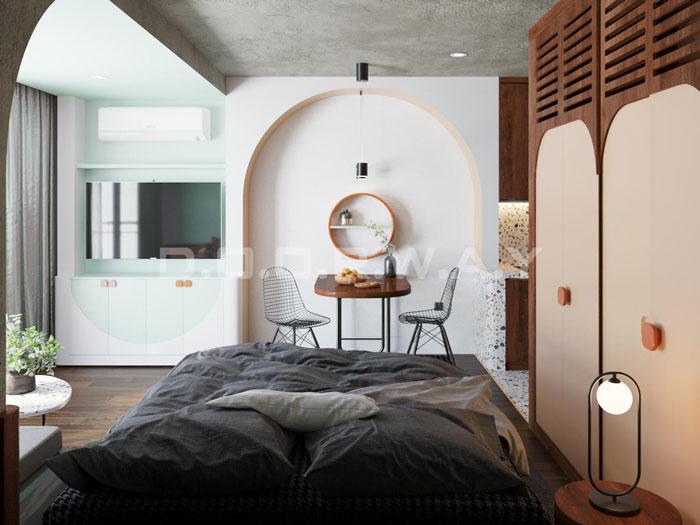 (12)Thiết kế nội thất nhà cho thuê phong cách hiện đại
