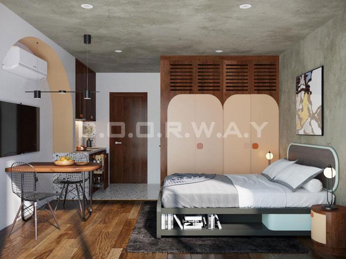 (15)Thiết kế nội thất nhà cho thuê phong cách hiện đại