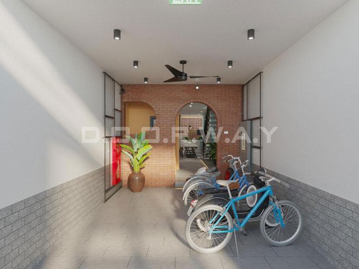 (17)Thiết kế nội thất nhà cho thuê phong cách hiện đại