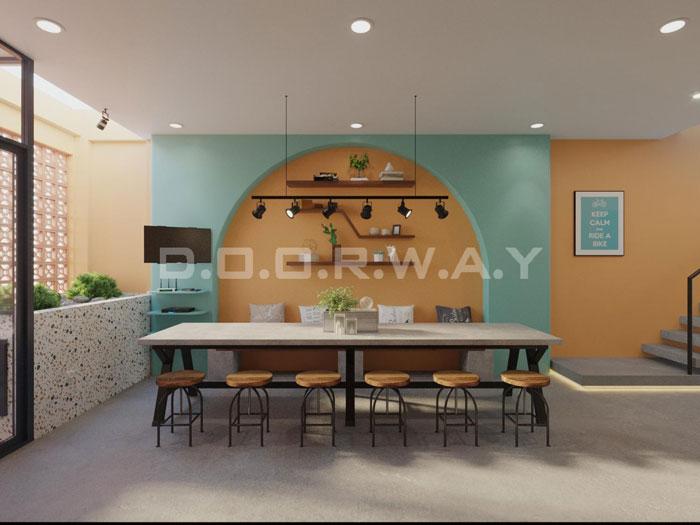(18)Thiết kế nội thất nhà cho thuê phong cách hiện đại