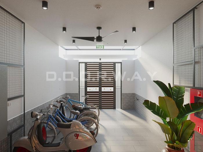 (21)Thiết kế nội thất nhà cho thuê phong cách hiện đại
