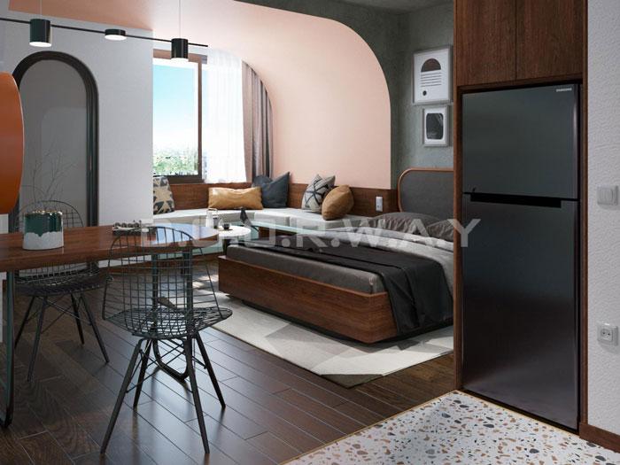 (6)Thiết kế nội thất nhà cho thuê phong cách hiện đại