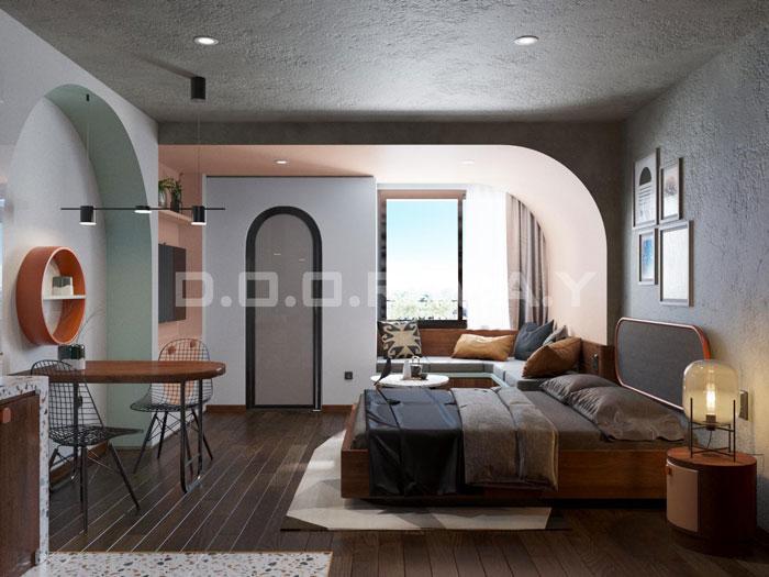 (7)Thiết kế nội thất nhà cho thuê phong cách hiện đại
