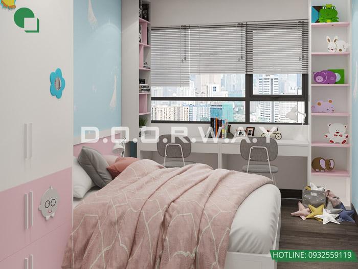 (10)Thiết kế - thi công hoàn thiện nội thất chung cư Eco Dream
