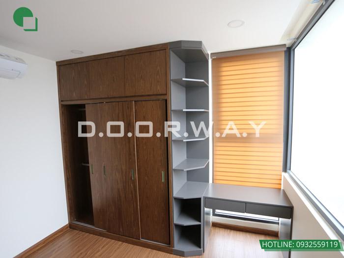 (13)Thiết kế - thi công hoàn thiện nội thất chung cư Eco Dream