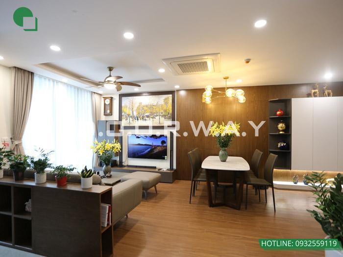 (17)Thiết kế - thi công hoàn thiện nội thất chung cư Eco Dream