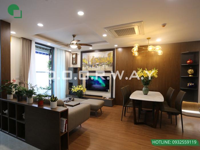 (20)Thiết kế - thi công hoàn thiện nội thất chung cư Eco Dream