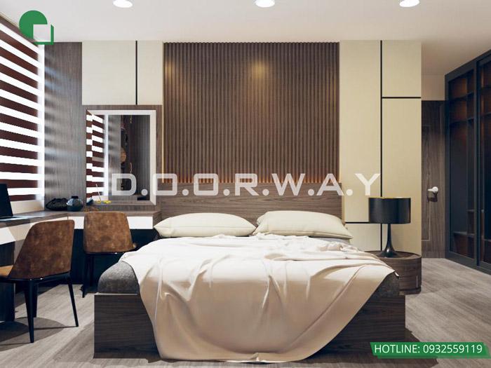 (4)Thiết kế - thi công hoàn thiện nội thất chung cư Eco Dream