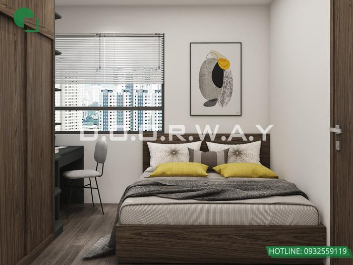 (8)Thiết kế - thi công hoàn thiện nội thất chung cư Eco Dream