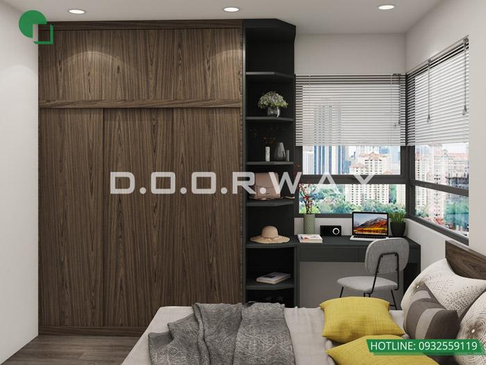 (9)Thiết kế - thi công hoàn thiện nội thất chung cư Eco Dream