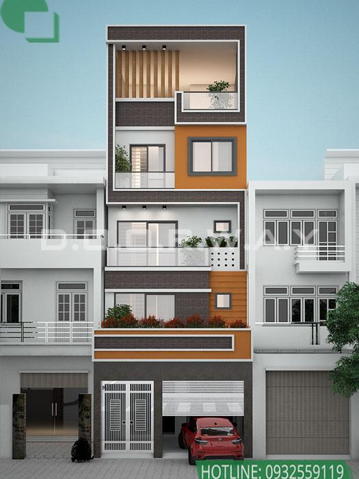 (2)Thiết kế nhà phố - Những mẫu nhà lô phố đẹp nhất 2020