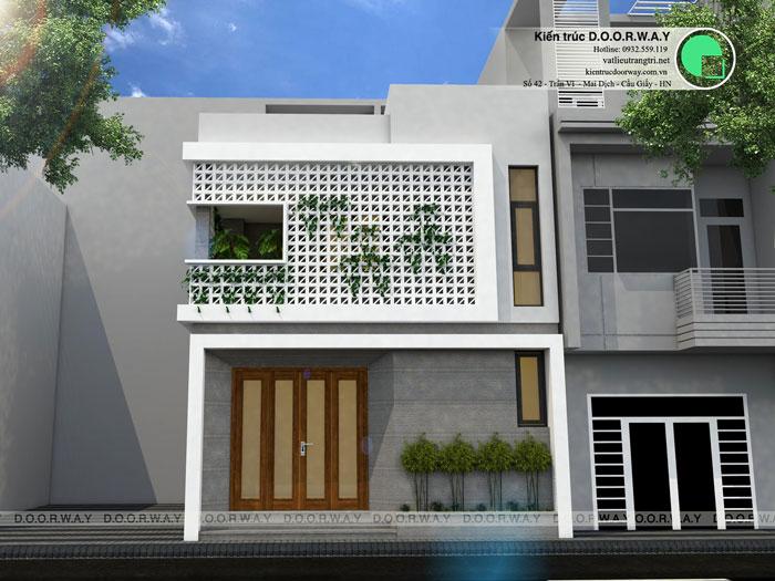 (3)Thiết kế nhà phố - Những mẫu nhà lô phố đẹp nhất 2020