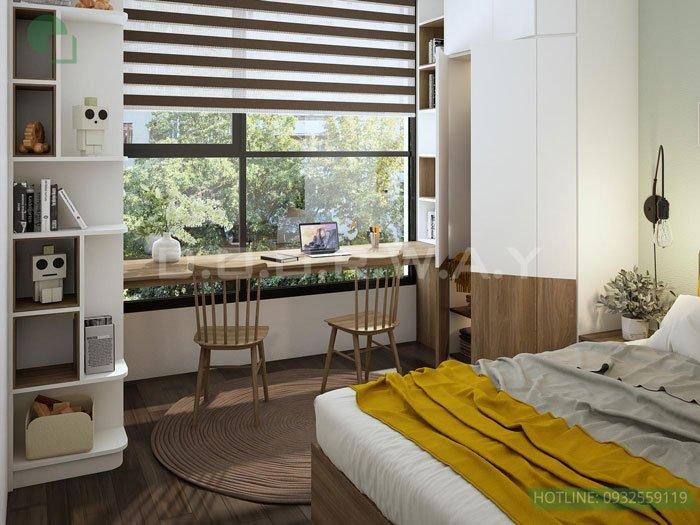 (2)Thiết kế căn hộ 2 phòng ngủ - Anh Hậu chung cư Green Pearl