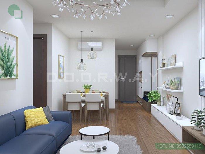 (6)Thiết kế căn hộ 2 phòng ngủ - Anh Hậu chung cư Green Pearl