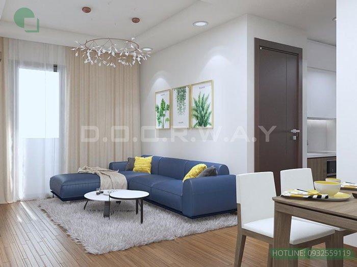 (5)Thiết kế căn hộ 2 phòng ngủ - Anh Hậu chung cư Green Pearl