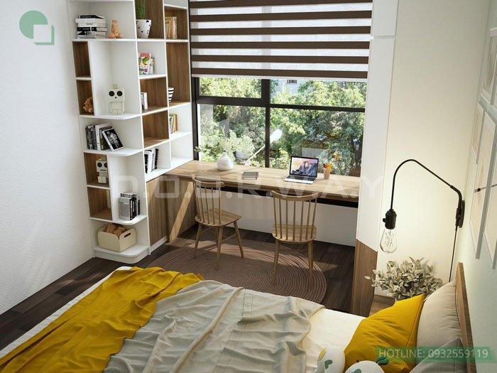 (4)Thiết kế căn hộ 2 phòng ngủ - Anh Hậu chung cư Green Pearl