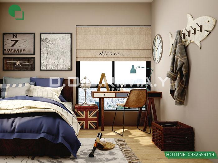 (3)Thiết kế chung cư theo phong cách vintage đẹp hoài cổ