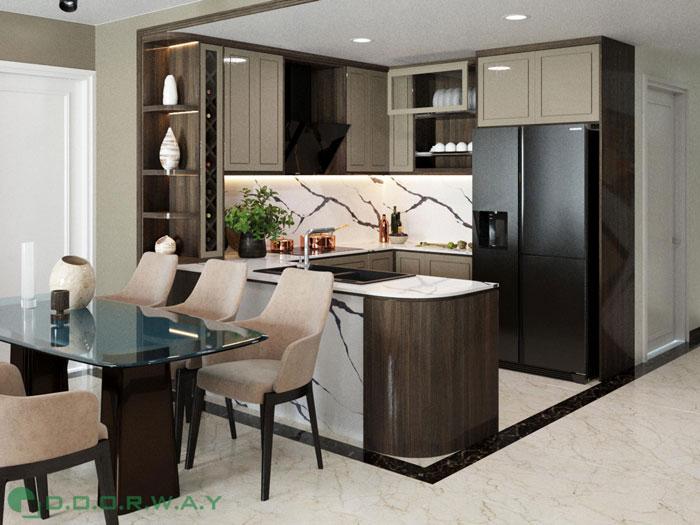 (10)Thiết kế nội thất chung cư cao cấp D.' Le Roi Soleil