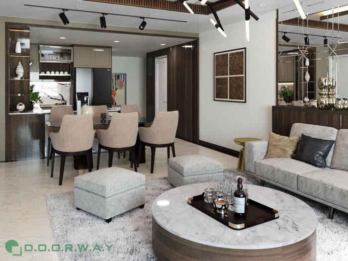 (9)Thiết kế nội thất chung cư cao cấp D.' Le Roi Soleil