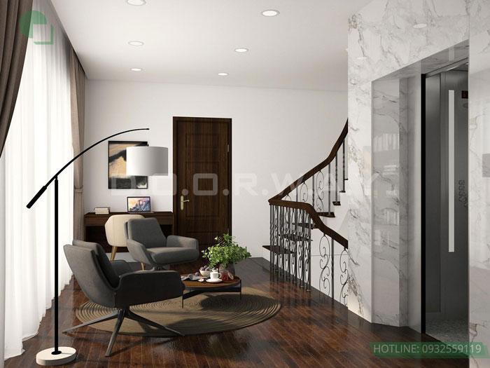 (9) thiết kế nội thất nhà phố tại Đông Anh