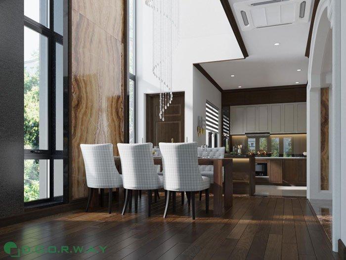 (8)thiết kế nội thất phòng khách - anh Quang