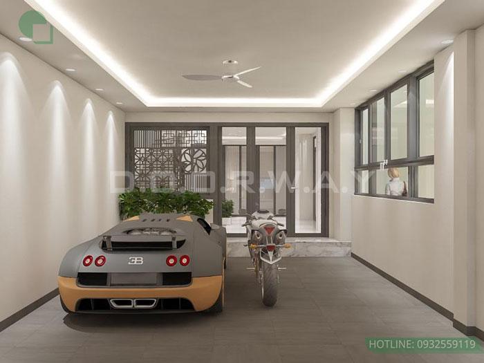 (12) thiết kế nội thất nhà phố tại Đông Anh