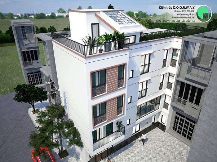 (1) Thiết kế kiến trúc nhà cho thuê
