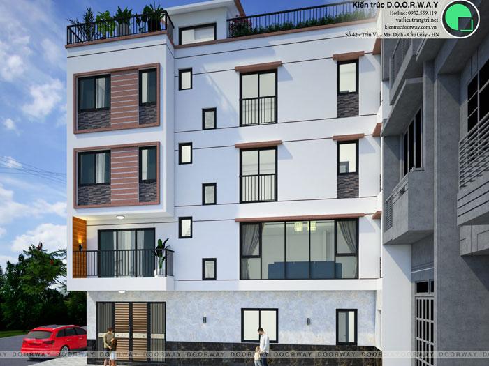 (3) Thiết kế kiến trúc nhà cho thuê