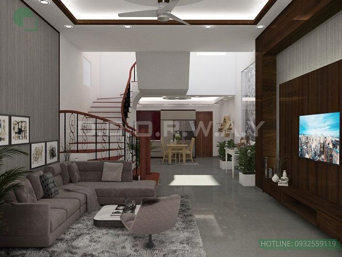 (6) thiết kế nhà phố