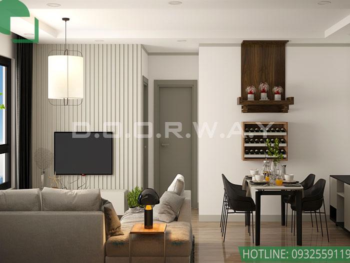 (1) thiết kế nội thất chung cư Time City