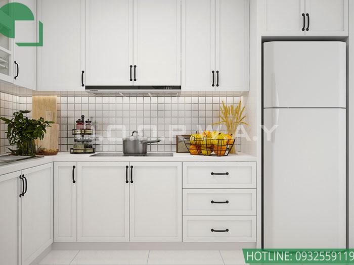 (3)Thiết kế nội thất chung cư Time City - chị Phương