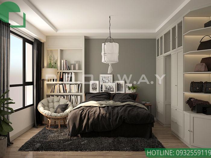 (5)Thiết kế nội thất chung cư Time City - chị Phương