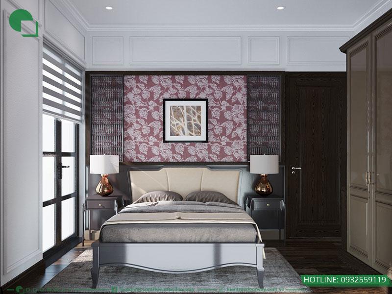 Thiết kế nội thất phòng ngủ tầng 3