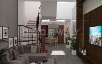 Thiết kế nội thất nhà phố nhà anh Tĩnh