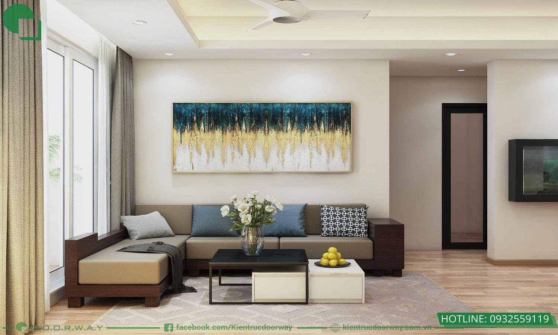 Thiết kế nội thất chung cư hud3