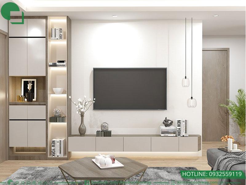 Mẫu phòng khách đẹp phong cách tối giản và hiện đại