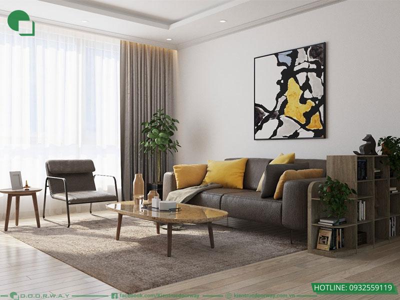 Các kiểu phòng khách đẹp phong cách hiện đại