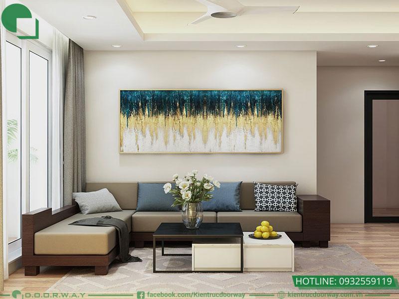 Kiểu phòng khách đẹp thiết kế đơn giản