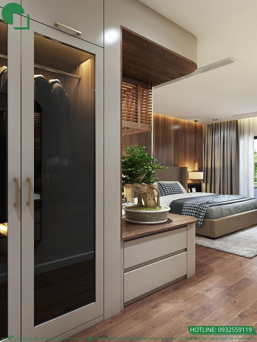 Thiết kế phòng ngủ Master đẹp