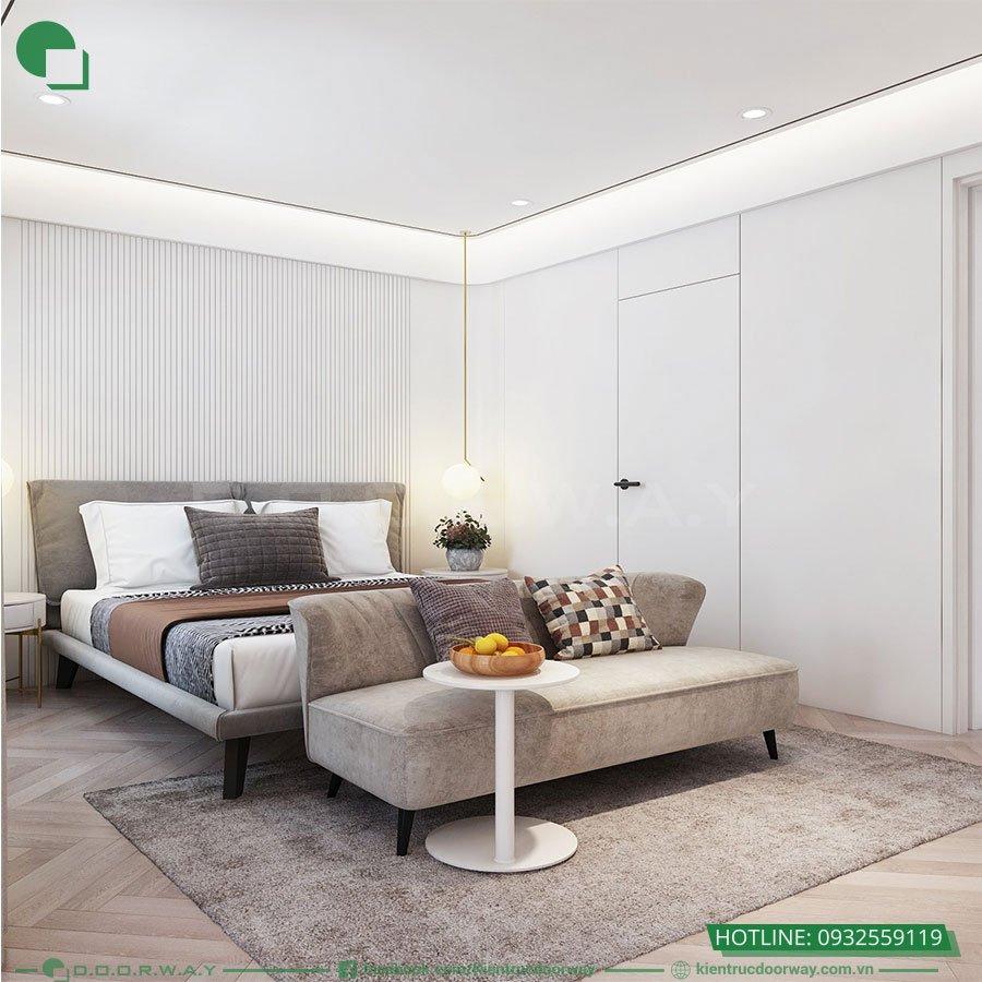 Thiết kế nội thất không gian sinh hoạt gia đinh - phòng ngủ