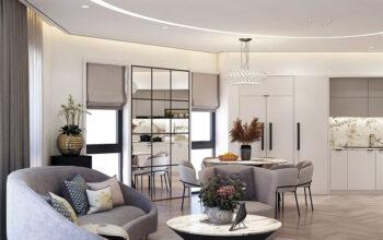Thiết kế nội thất không gian tầng sinh hoạt gia đình