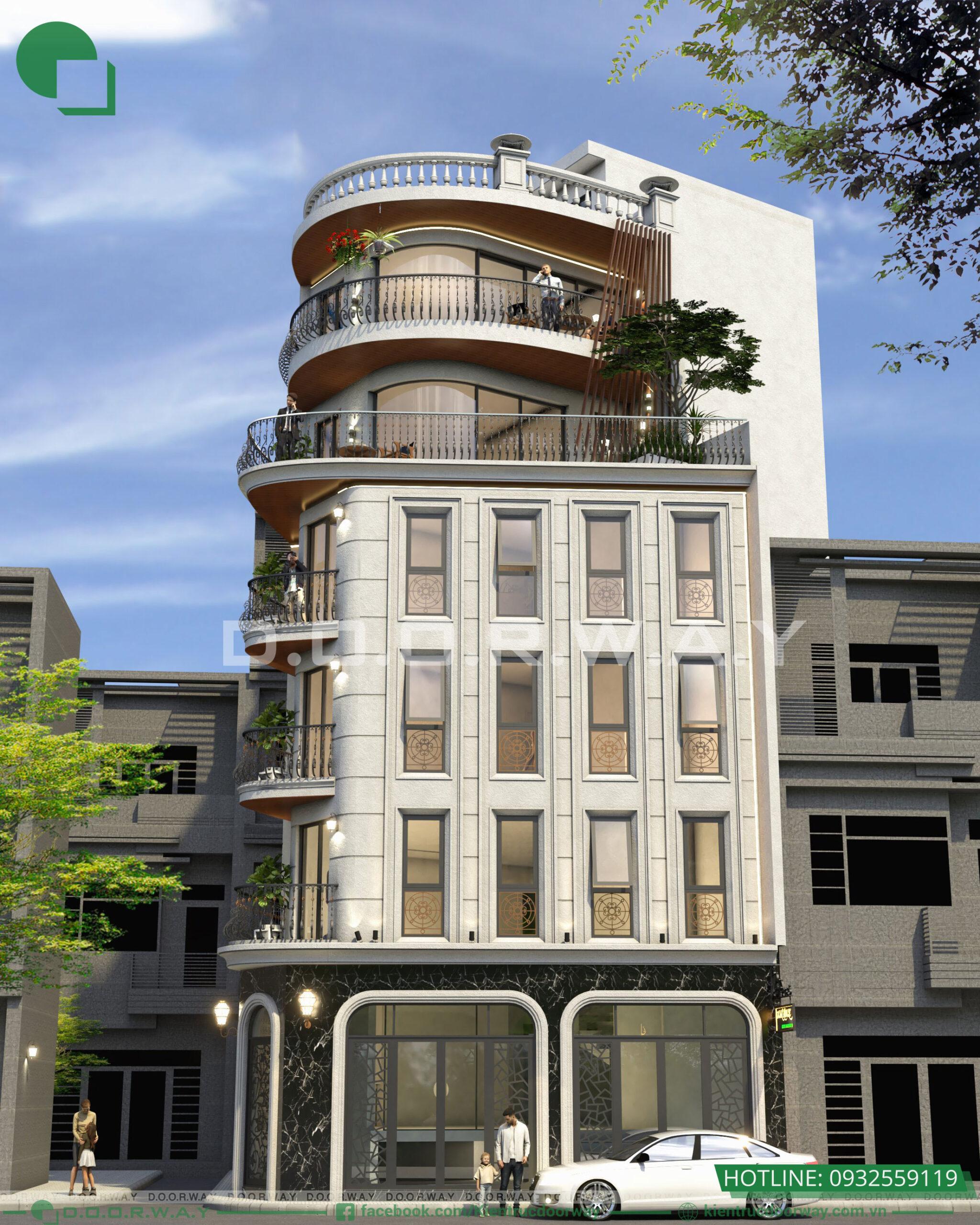 Thiết kế nhà phố vừa ở vừa cho thuê