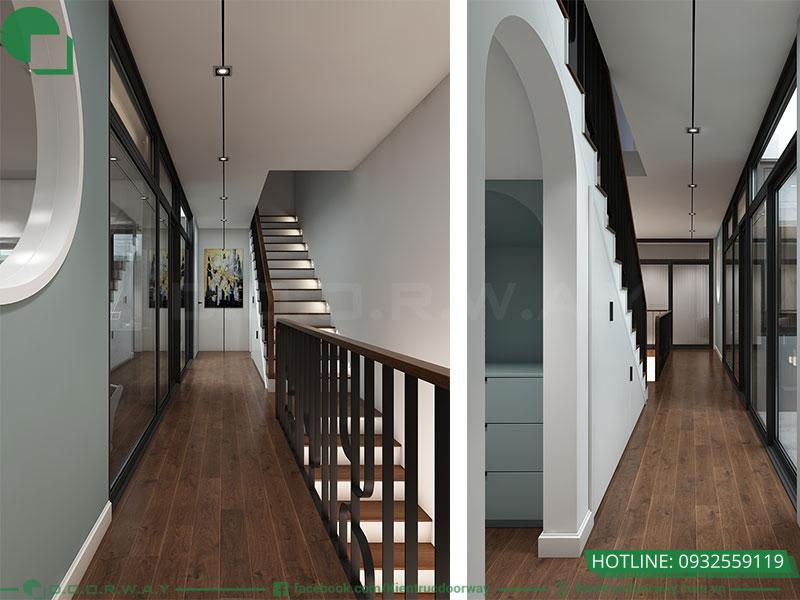 Thiết kế khu vực hành lang
